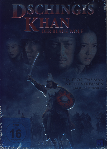 original DVD: Dschingis Khan - Der Blaue Wolf (2 Disc Set)