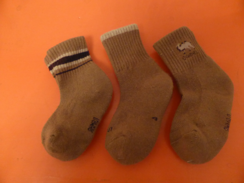 Kinder Wollsocken-Kamelhaar
