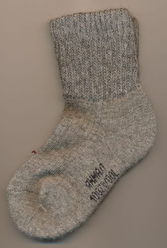 Kinder Wollsocken - Grau